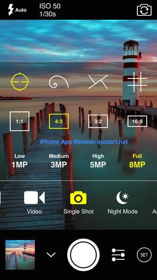ProCam 2 아이폰 추천 사진 촬영 편집 앱