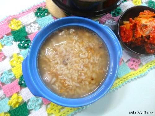 누룽지밥 만드는법