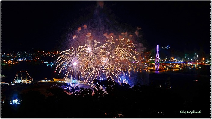 OmnisLog :: 부산항축제 전야제 불꽃사진-영상 2017