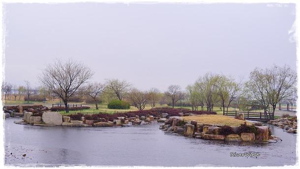 비오는 삼락공원(三樂公園)