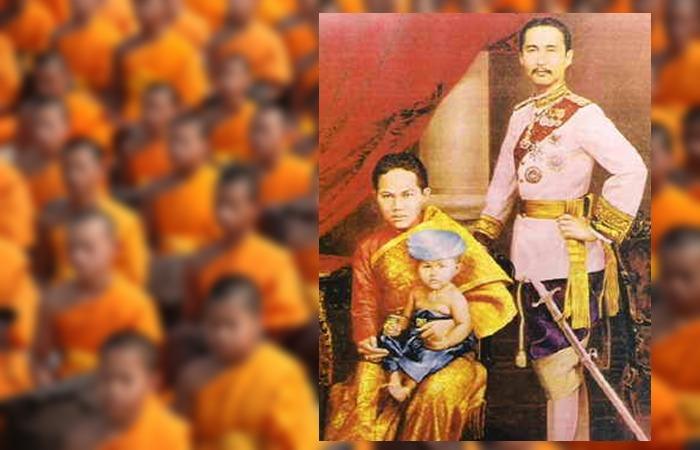 사진: 라마5세와 쑤난타 왕비, 1세된 공주의 가족사진. 하지만 얼마 후 수난타 왕비와 공주, 태아는 익사사고로 숨진다. 태국의 새로운 개혁이 일어나는 비극이다. [수난타 왕비의 어이없는 익사사건]