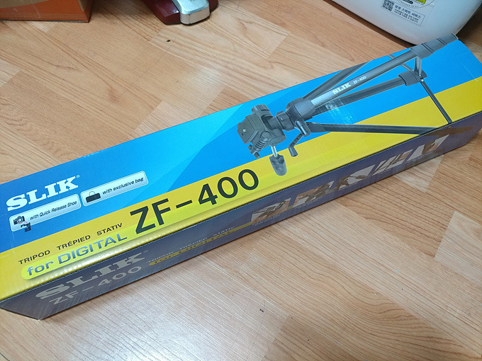 [삼각대추천] 카메라/비디오 겸용 삼각대 슬릭 ZF-400