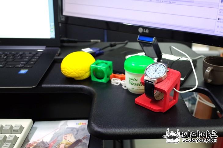 3D 프린터 메이커봇 리플리케이터2 하웨이 워치 거치대