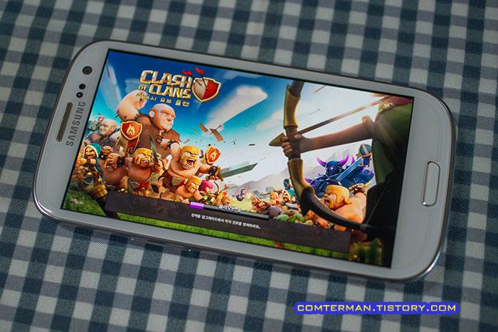 클래시 오브 클랜 Clash of Clans 스마트폰 안드로이드 아이폰 게임