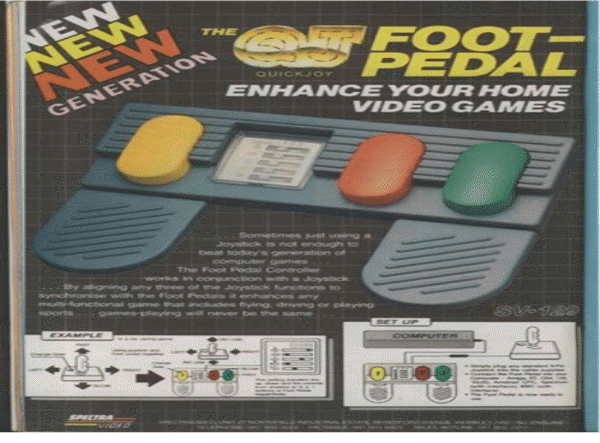 Quick Joy Foot Pedal