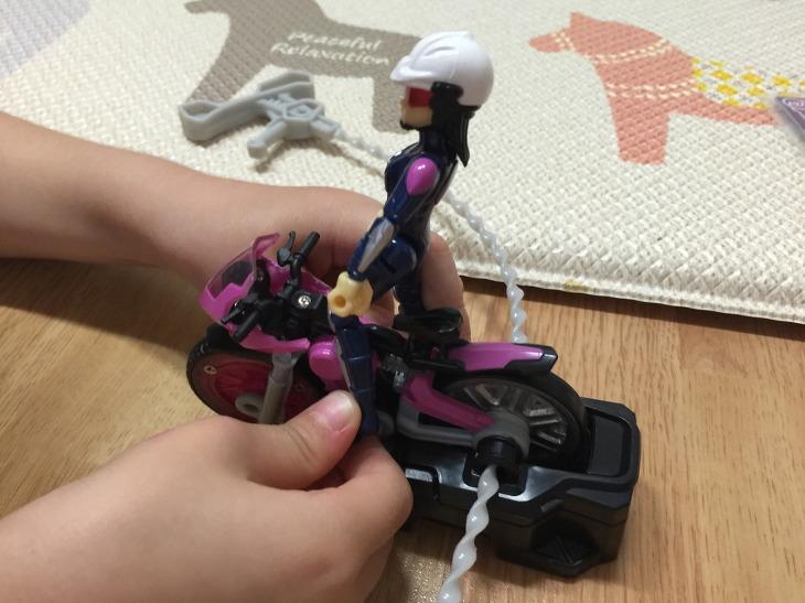 바이클론즈 액션바이크 장난감