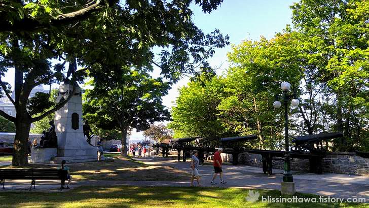 몽모랑시 공원입니다