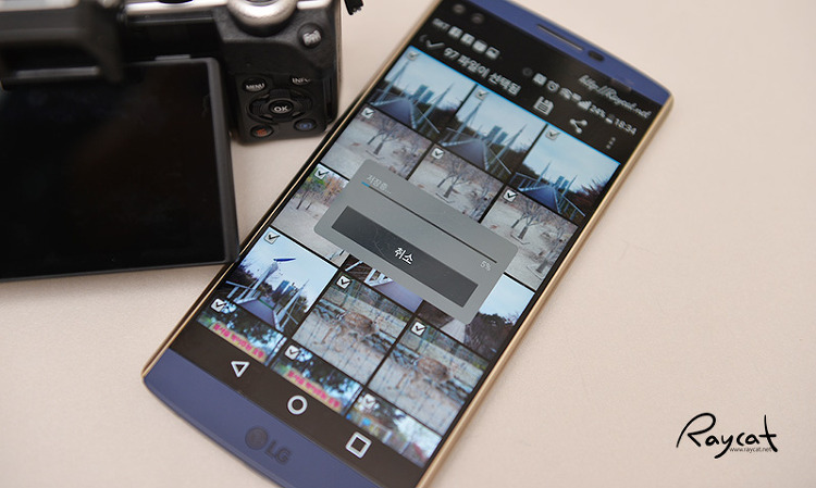 올림푸스 카메라 스마트폰으로 사진 이동