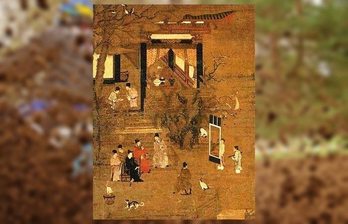 사진: 고려시대 귀족의 생활상을 그린 그림. 신라시대에 비해 고려시대는 신분의 상승이 그나마 가능했었다. 그렇기에 소금장수 아들이 장군의 지위에 오를 수 있었다. [고려 무신정변과 이의민]