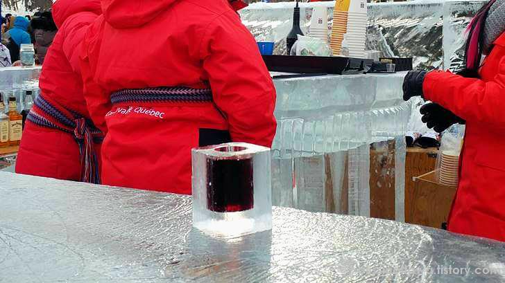 아이스 와인 컵 입니다.
