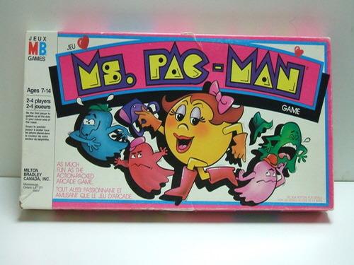 Ms. PAC-MAN Game