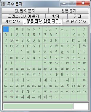 키보드 특수문자 문자표 단축키모음 및 입력기 사용법