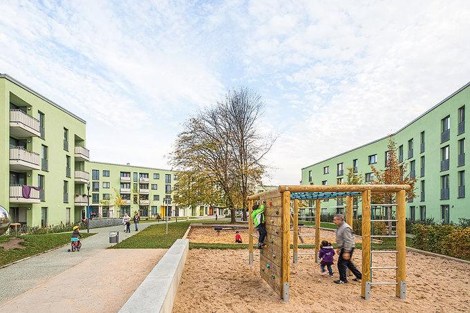 Urbane gestalt housing in k ln ostheim - Landschaftsarchitekten koln ...