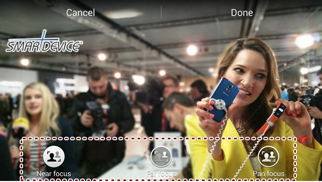 HDR, ISOCELL, 갤럭시S5, 갤럭시S5 카메라, 리치톤 HDR, 셀렉티브 포커스, 아이소셀, 삼성, 삼성전자, 삼성 갤럭시 S5, 삼성 언팩, 언팫 2014, 삼성 언팩 2014, MWC 2014, MWC, Galaxy S5, Galaxy S5 camera