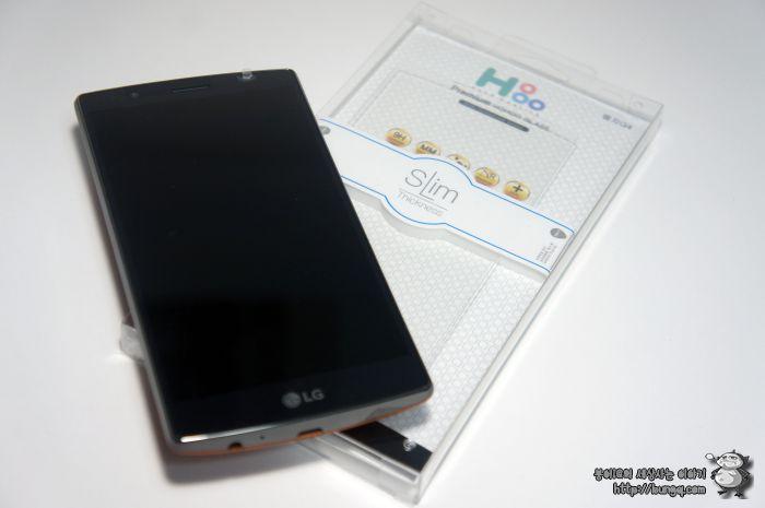 LG G4 강화유리 호후 글라스 후기