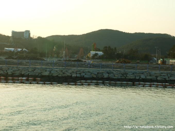 경남 고성 당항포 바다