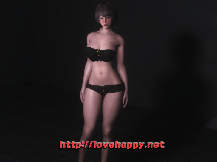 스카이림 의상 - 로그 의상 leather outfit clothes hdt skyrim mod 002