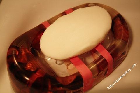 비누, 욕실, 고무장갑