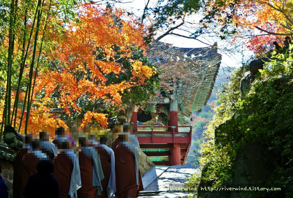 산사(山寺)의 가을