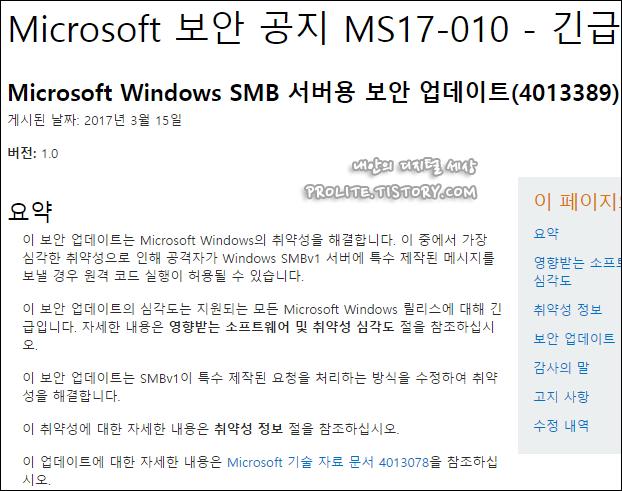 Windows SMB WannaCry Ransomware