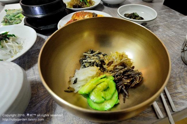 영주 여행 / 영주 무섬마을 맛집 /  향토음식 전문 한정식집 '무섬골동반'