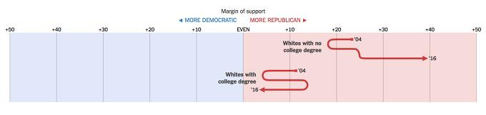 트럼프 지지자 특징