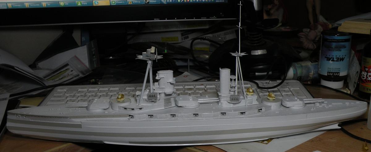 1/350 HMS 쾨니히 작업5