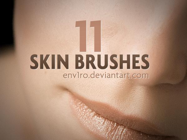 11 가지 피부(skin) 포토샵 브러쉬 - 11 Free Skin Photoshop Brushes