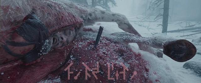 영화 '레버넌트(The Revenant, 2015)'의 이 장면을 통해서 아기는 생명력의 열매의 축복을 받는 영험한 의식을 떠올려야 한다.