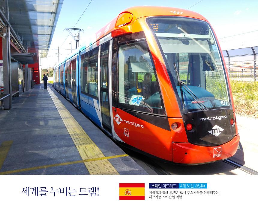 스페인 마드리드 트램