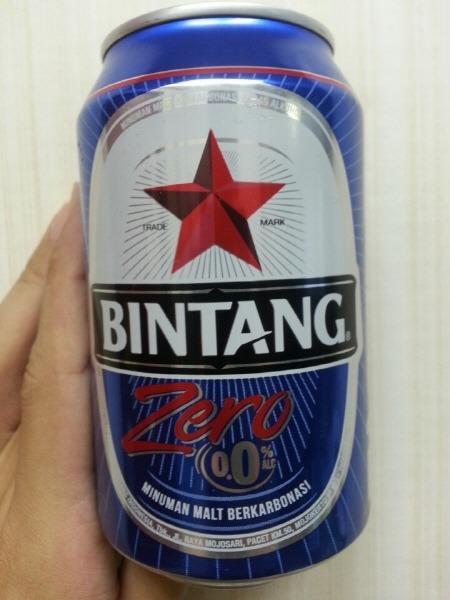 인도네시아 빈땅 맥주 무알콜 - Bintang zero