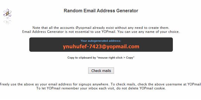 일회용 이메일 주소 사이트 YOPmail 이용하는 방법 :: 듀륏체리의 하드웨어 섹터