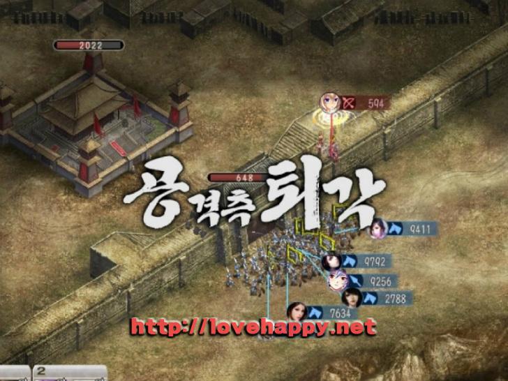 미녀삼국지 - 12화 동민 vs 마등, 서량 공방전. 017