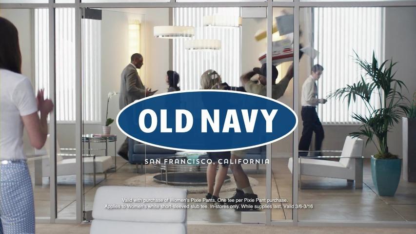 악마는 올드네이비를 입는다? - 에이미 폴러(Amy Poehler)의 올드네이비(Old Navy)광고 '면접'편 [한글자막]