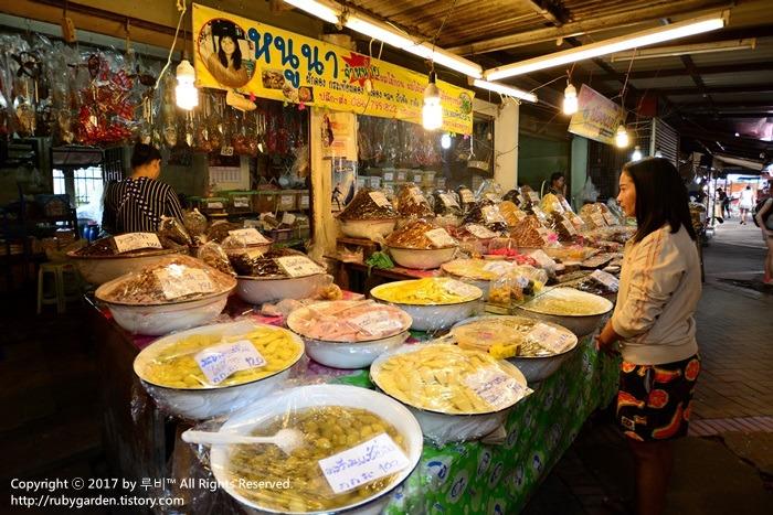 태국 여행 / 세계문화유산 '아유타야' 1일 투어 / 아유타야 재래시장 '탈랏 차오 프롬(Talat Chao Phrom)'