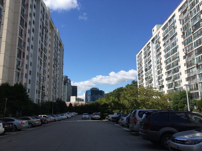 아파트 하늘, 하늘 사진, 아파트 하늘 사진, 해운대 삼호가든, 아파트 하늘 구름