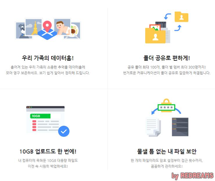 네이버데이터홈,네이버클라우드,datahome,영구보존,데이터홈,클라우드,데이터공유,파일공유,reddreams