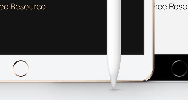 무료 아이패드 프로목업 PSD iPad Pro 10-5 Mockup Template