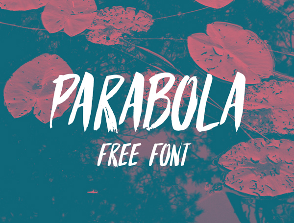 Parabola – Free Brush Font