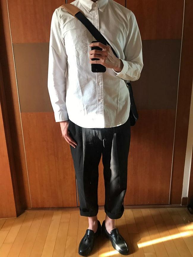 남자셔츠 오버핏