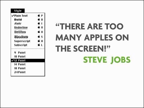애플 아이콘, 애플 커멘드 키, 애플 디자이너, 애플 수잔 케어, 애플 디자인 탄생, 애플 마크