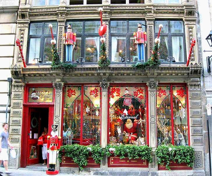 몬트리올 크리스마스 가게입니다