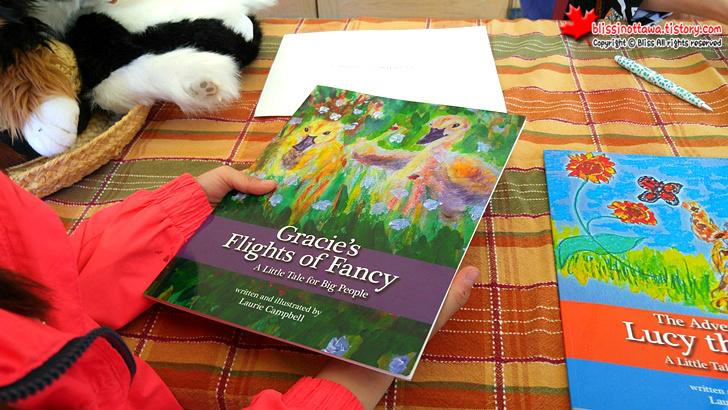 캐나다 오타와 핸드메이드 마켓에서 만난 동화책 작가