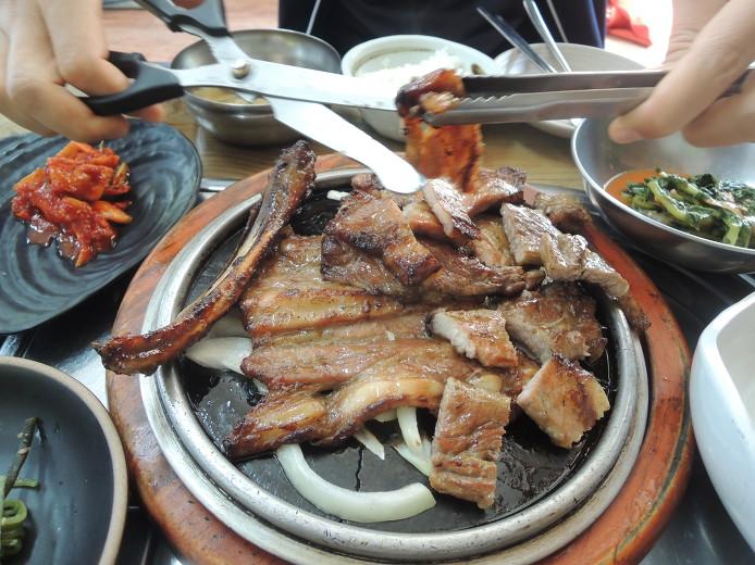 공주 먹거리 석갈비 돼지갈비맛집 갈비백반