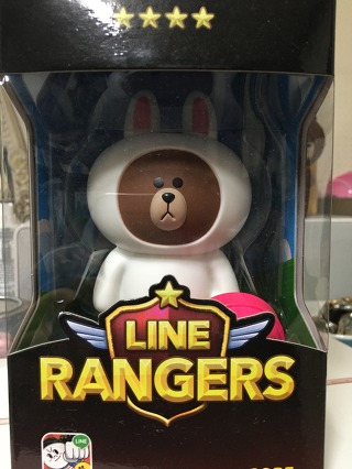 라인레인저스 코비인형 Line Rangers