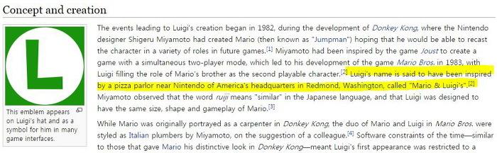 루이지 이름 기원 Luigi