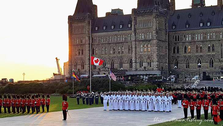 캐나다 군대 연례 공연 포티시모입니다