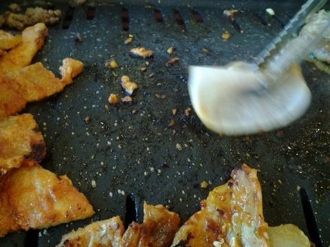 고깃집, 고기, 철판, 청소