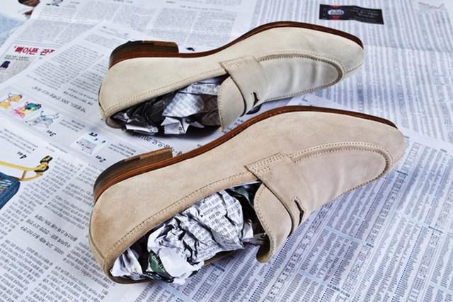 신발냄새없애는방법 신문지재활용
