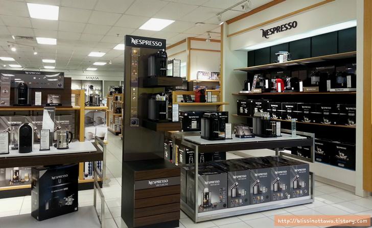 캐나다 네스프레소 Nespresso 커피 머신 판매처